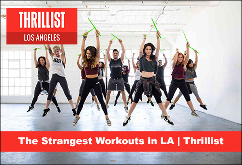 Naked Yoga - The Strangest Workouts in LA | Thrillist